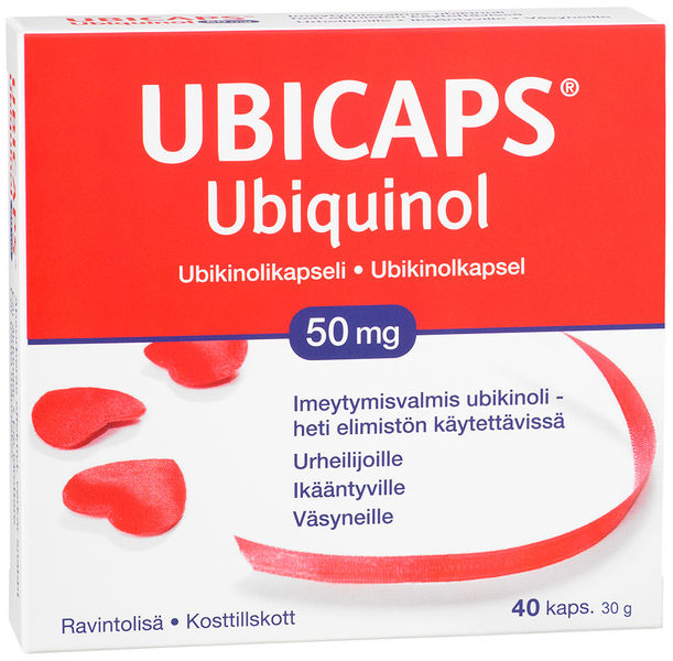 Ubicaps Ubiquinol 50 mg